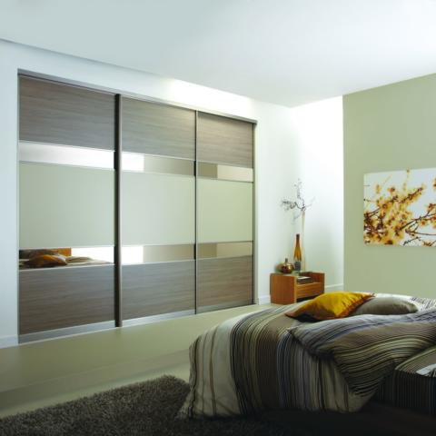 VOLANTE Grey Brown Ontario Walnut Bronze Mirror Dakar