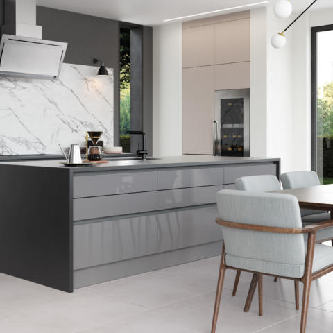 Zola Gloss Dust Grey and Tavola Anthracite Cameo 2