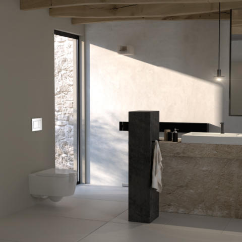 Geberit bath 02 sigma30 with geberit wc