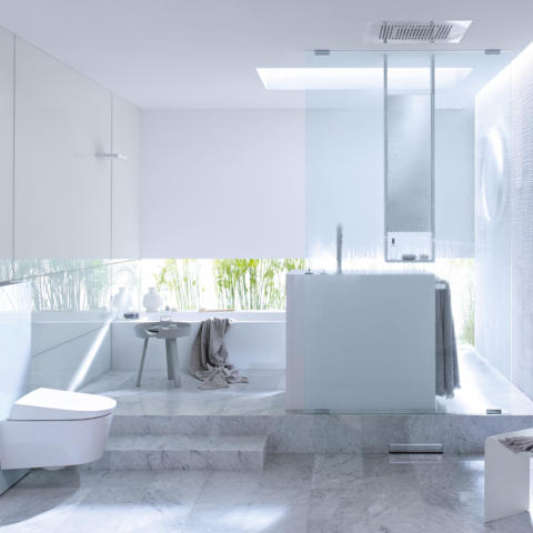 Geberit bath 22 monolith white