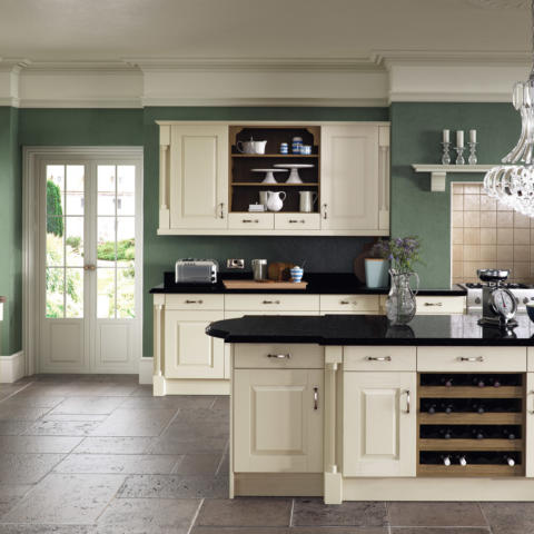 Windsor classic painted ivory kitchen hero